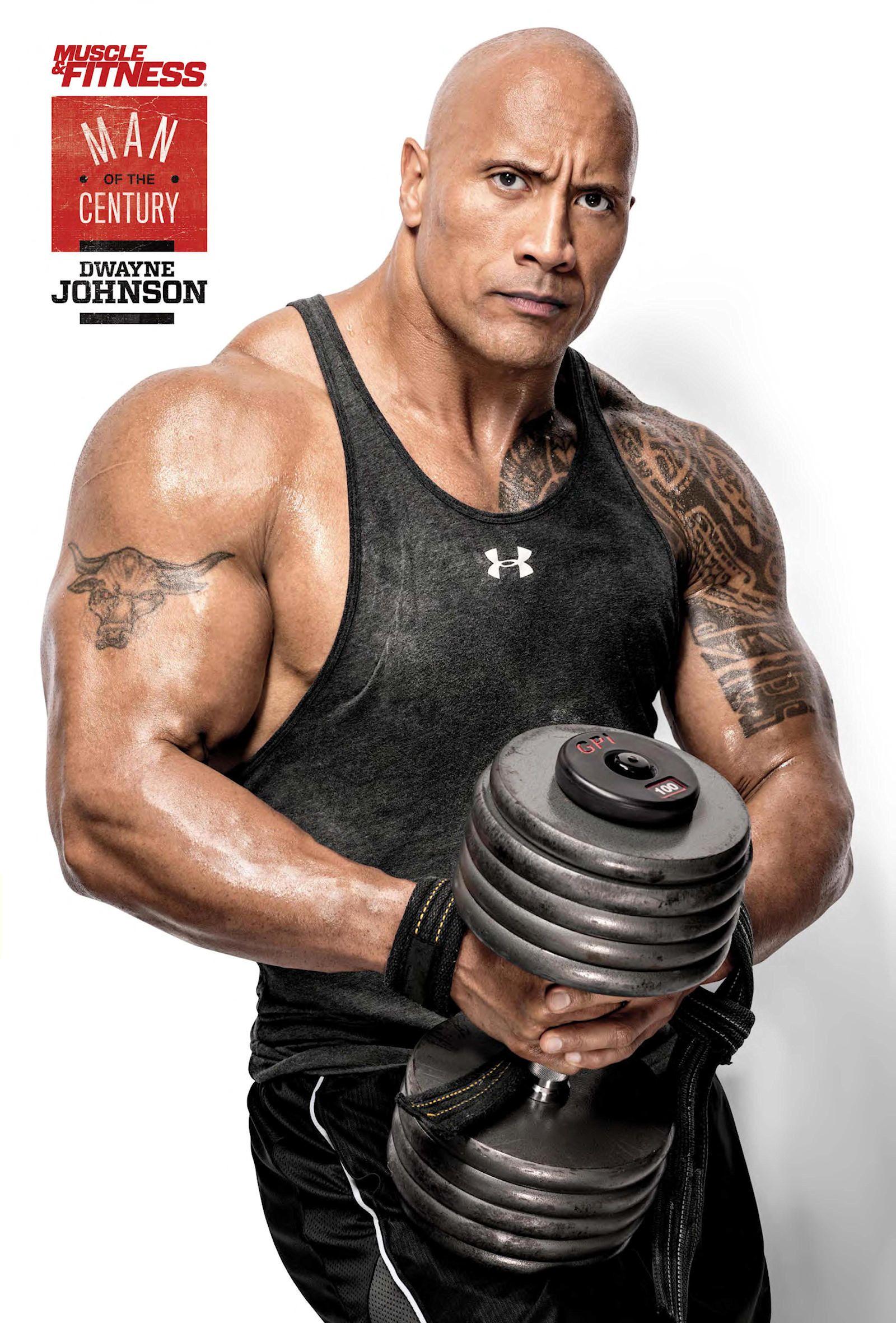 Rock Dwayne Johnson Muscle