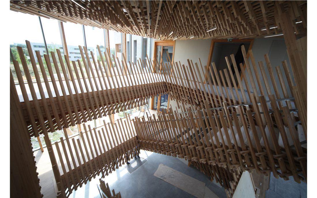 Escaliers Japonais Metalobil Agence De Design Nantes 44