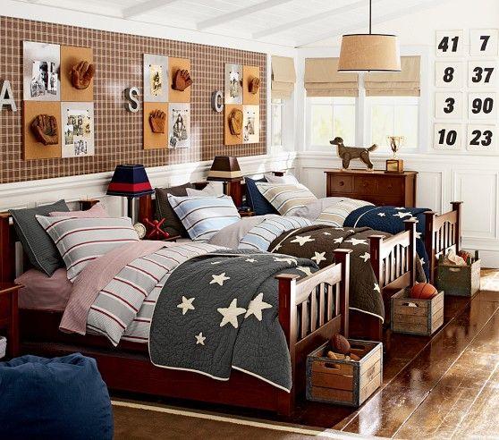 Jackson Stripe Sheet Set | Pottery Barn Kids | Boys Room ...