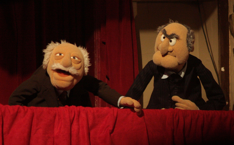 Muppets Statler And Waldorf Meme