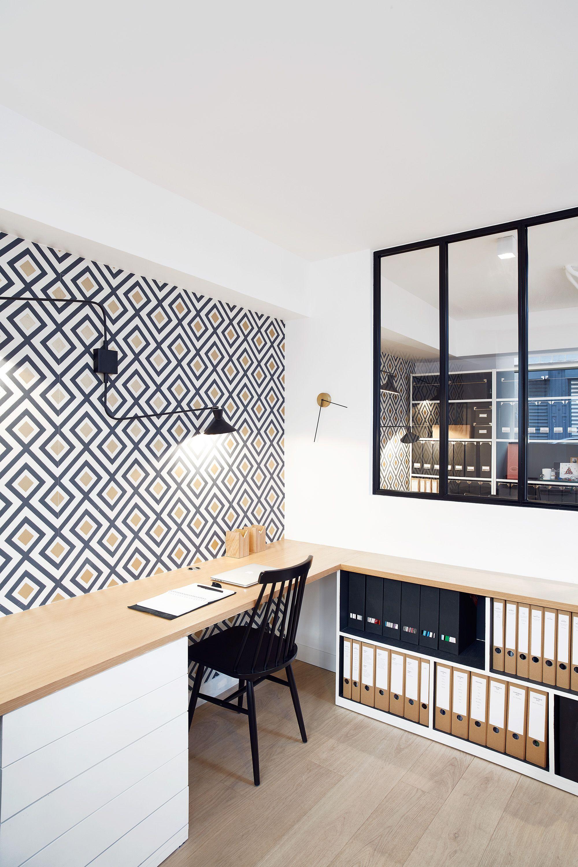 Aménagement de bureaux du Studio Elodie Cottin. Paris XVII - 2016