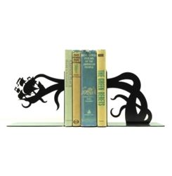 Some fantastic bookends like this tentacle pirate ship attack.
