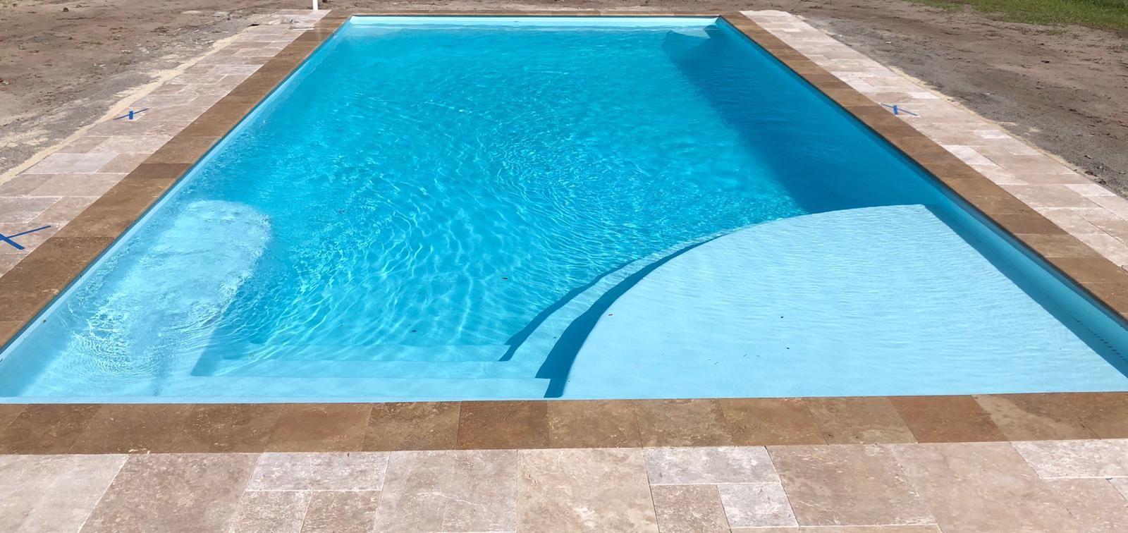 The Lake Superior San Juan Pools San Juan Pools Inground Fiberglass Pools Pool Photos
