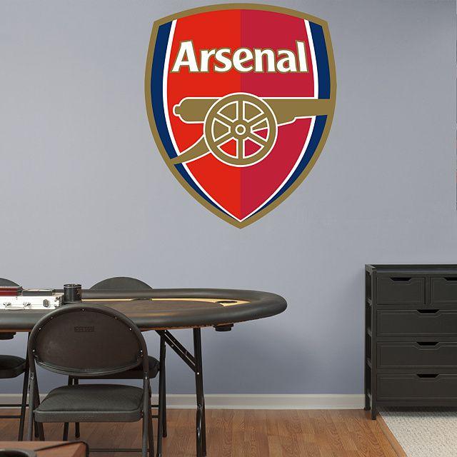 Arsenal Crest Football Bedroom Arsenal Boys Football Bedroom