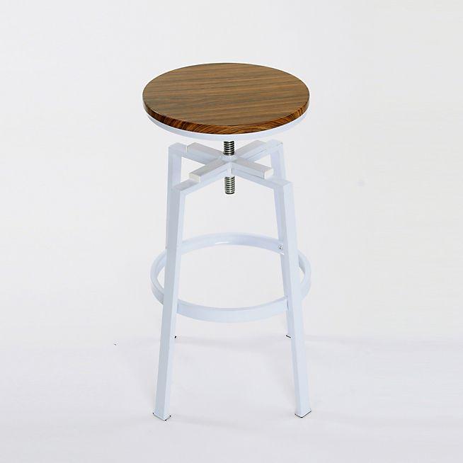 Tabouret Haut Reglable En Hauteur Nea Tabourets Hauts Tables Chaises Salon Salle A Manger Par Piece Decoration I Mobilier De Salon Meuble Deco Tabouret