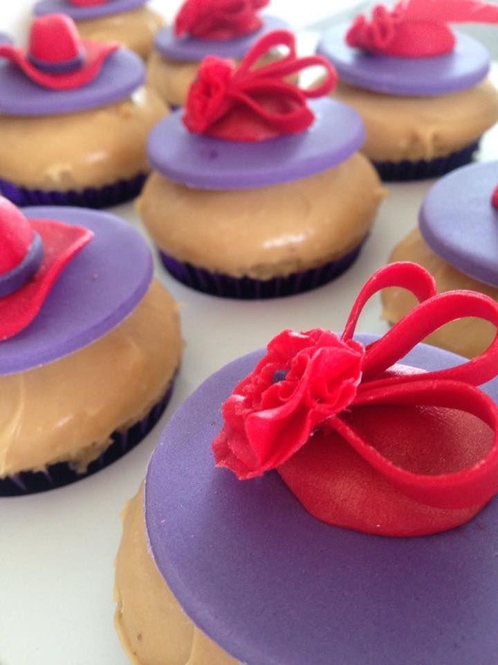 Red Hat Ladies Cupcakes
