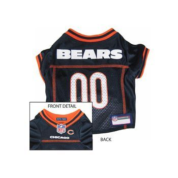 c4def1394 Pets First Chicago Bears NFL Dog Jersey - Extra Small