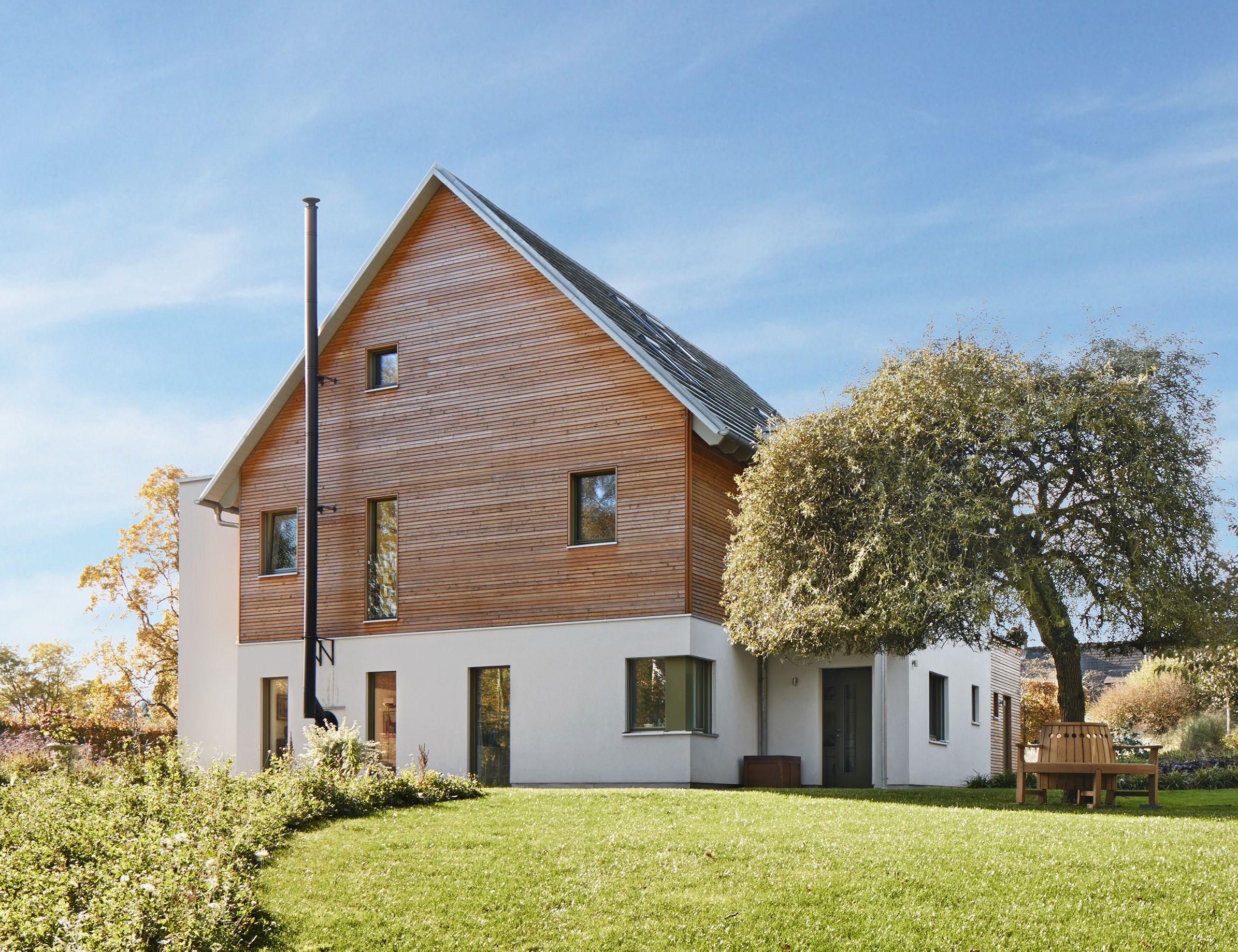 Holzhaus Architektur modernes holzhaus mit satteldach architektur designhaus frankel