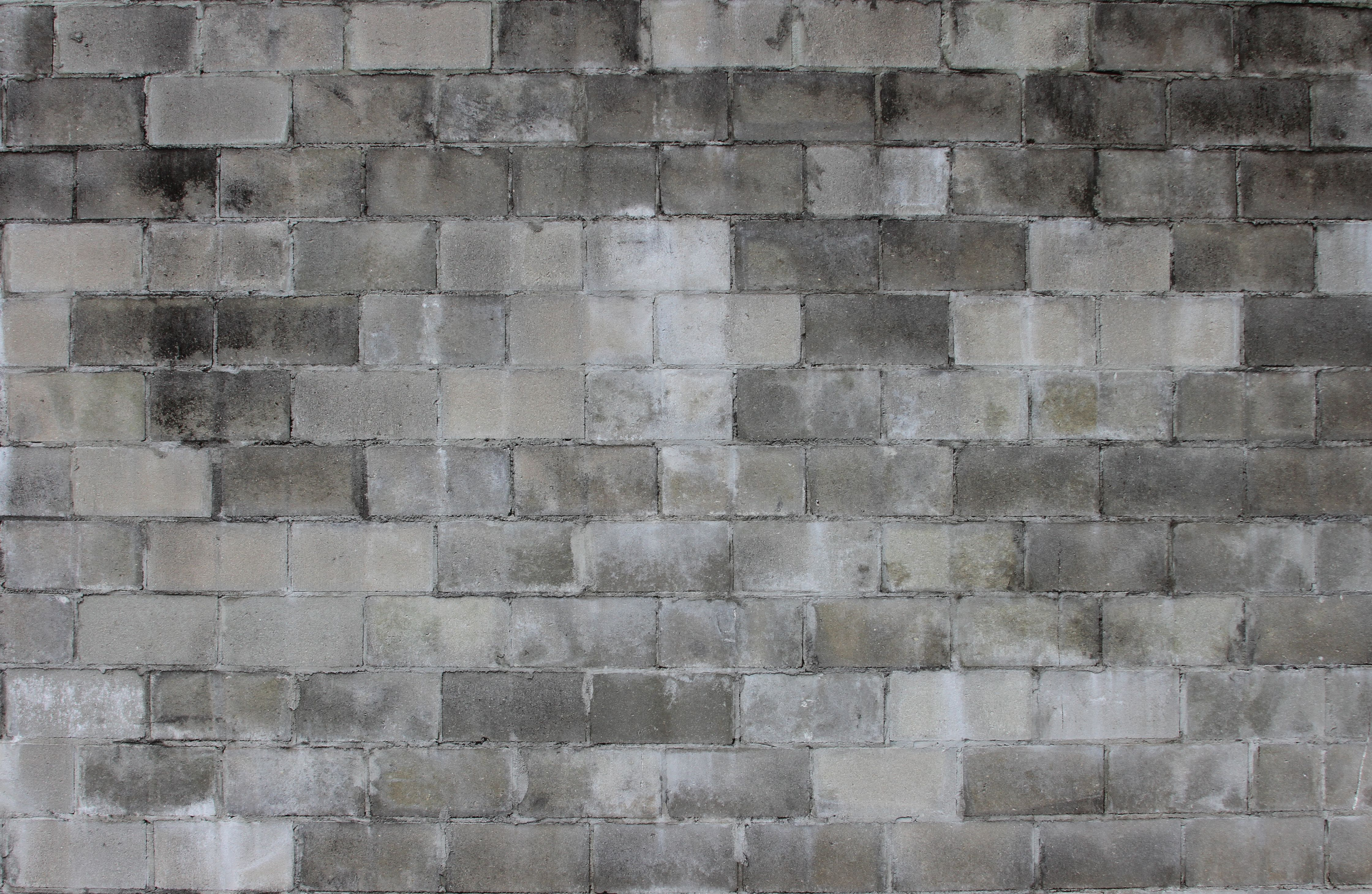 High Quality High Resolution Weathered Cinder Block Wall Texture Ideal For Texturing  Construction Scenes In