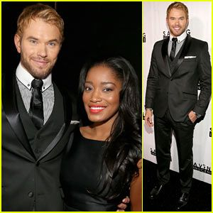 Kellen Lutz and Keke Palmer