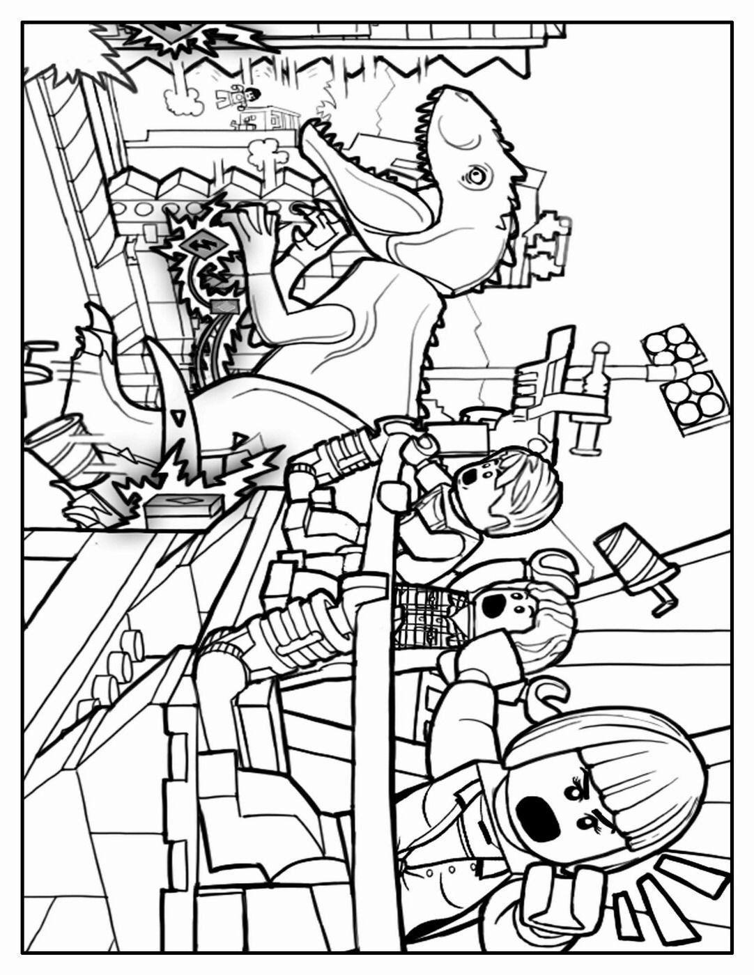 30 Inspirational Jurassic World Coloring Pages in 2020 ...