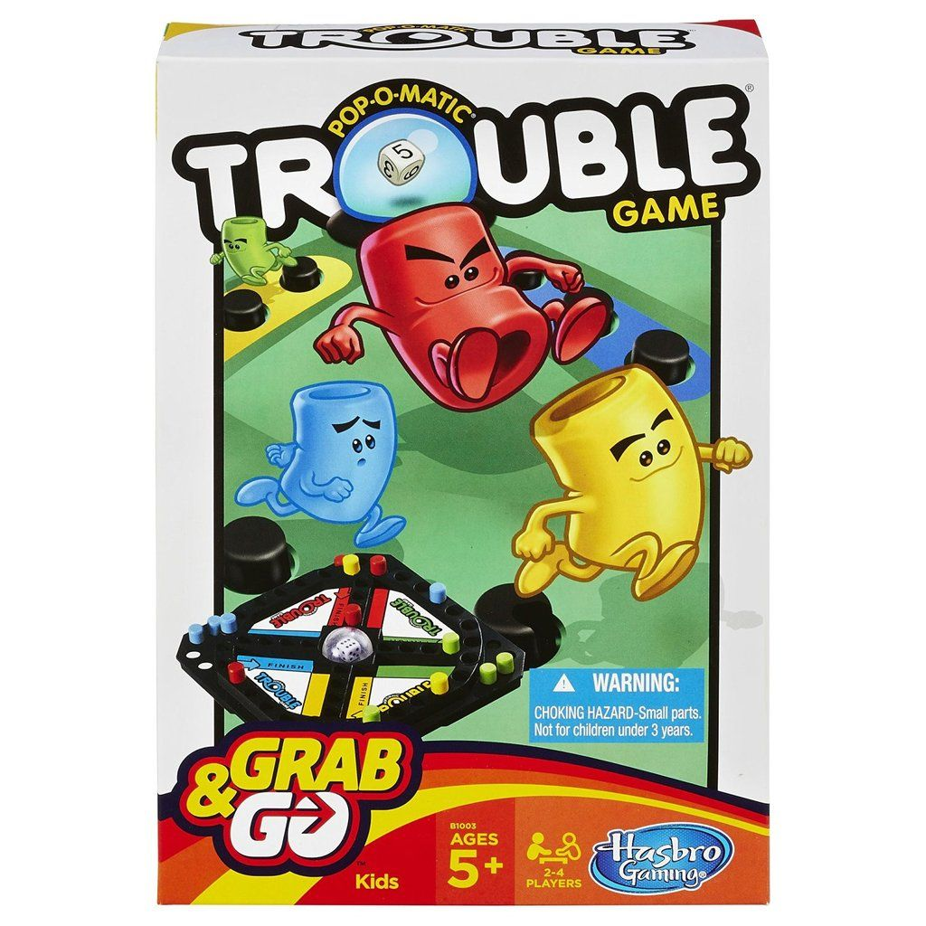 PopOMatic Trouble Grab & Go Game Go game, Fun games