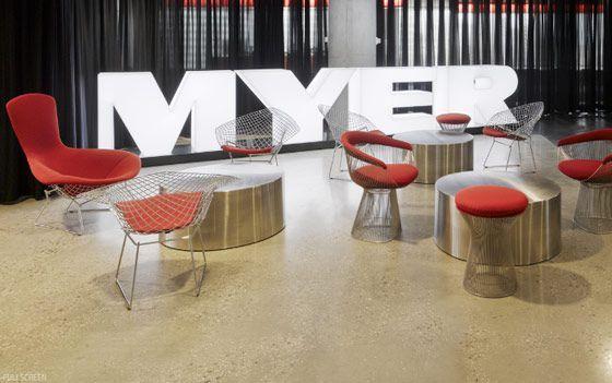 Modern textures,modern interior design office work space