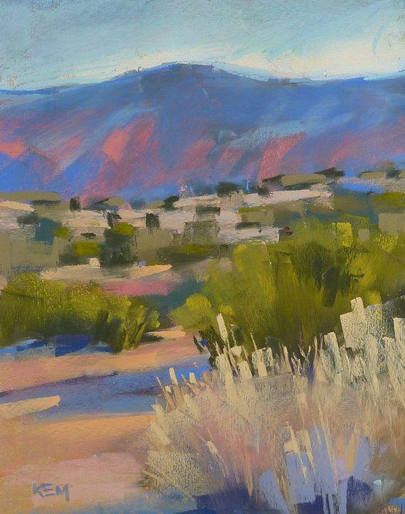 Contemporary Landscape Southwest Desert By Karenmargulisfineart Desert Painting Southwest Painting Landscape Art
