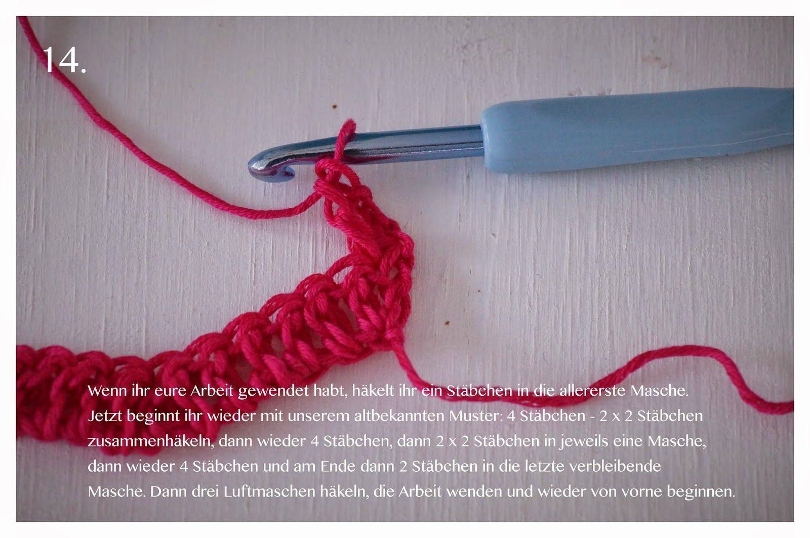 Crochet Ripple Blanket, Häkeldecke mit Wellenmuster, Anleitung ...