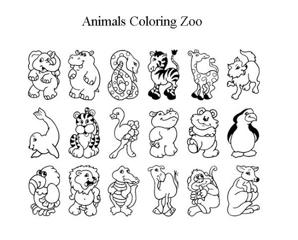 Zoo Coloring Sheet 2017 16843 Cute Zoo Animal Coloring Pages Cute