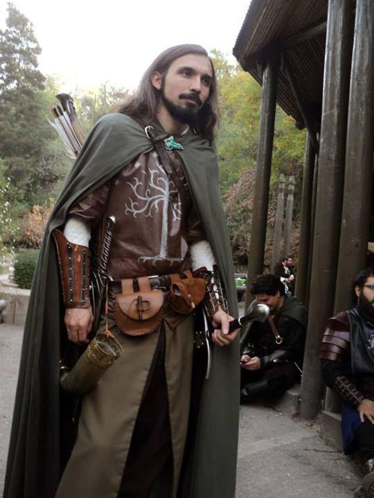Ithilien ranger | Menswear | Pinterest | LARP, Medieval ...