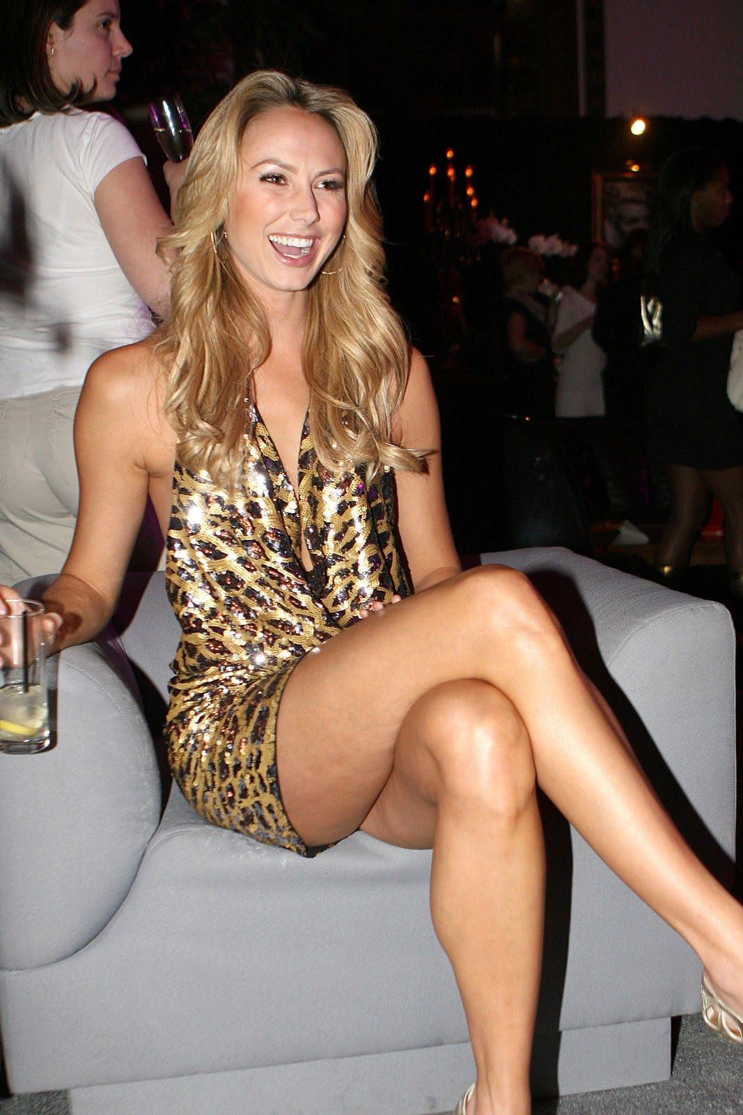 Hot Crossed Legs Sexy Stacy Keibler Hot Leg Cross