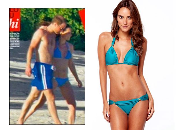 E era brasileiro o biquíni de Kate Middleton nas fotos polêmicas de paparazzi no Caribe. Quer um igual? | Chic - Gloria Kalil: Moda, Beleza, Cultura e Comportamento