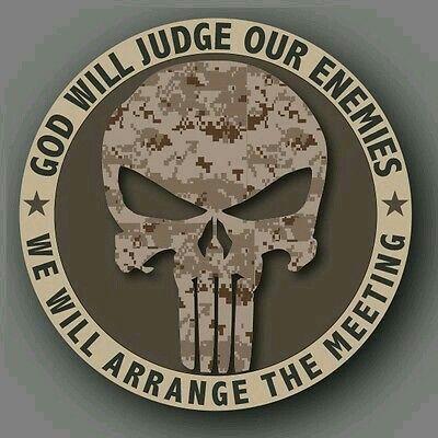 Military Tattoos · Justiceiro 85943dcbf15