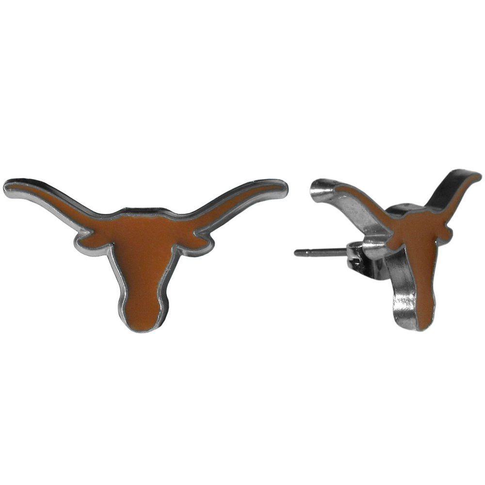 Texas Longhorns Stud Earrings CSE22 | Products | Pinterest | Texas ...
