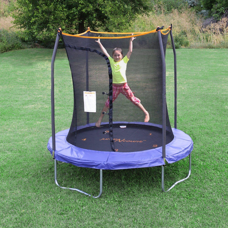 Skywalker Trampolines Jump N' Count Trampoline with Enclosure, 7 ...