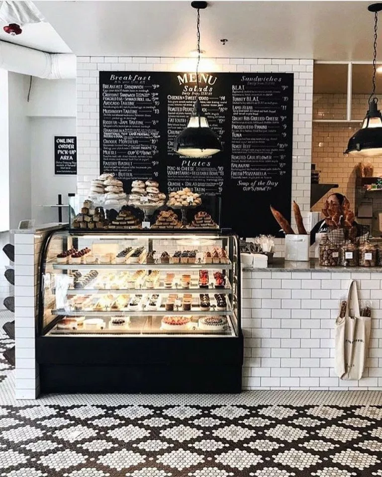 40 Most Aesthetic Cafes And Coffee Shops In Vancouver 24 In 2020 Bakery Interior Small Coffee Shop Bakery Design