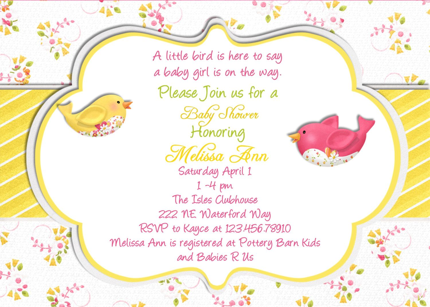pretty adorable | Em\'s baby shower | Pinterest | Shower invitations ...