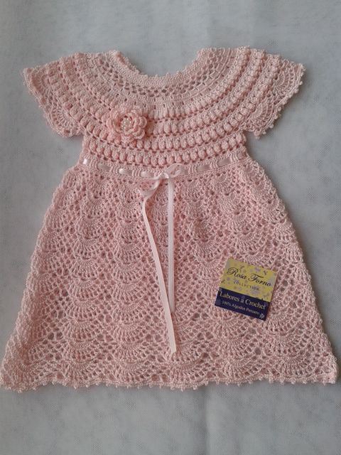 Arte Crochet Perú  by Rosa Forno Collection DRESS