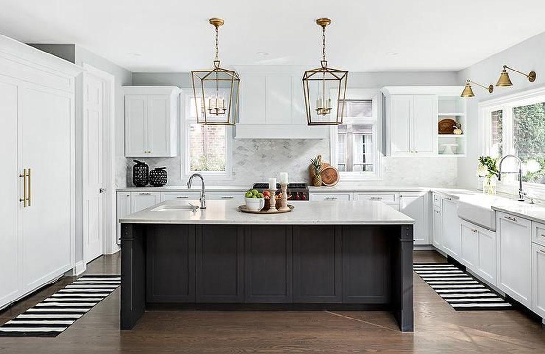 34 Stunning Black Kitchen Island Ideas Black Kitchen Island