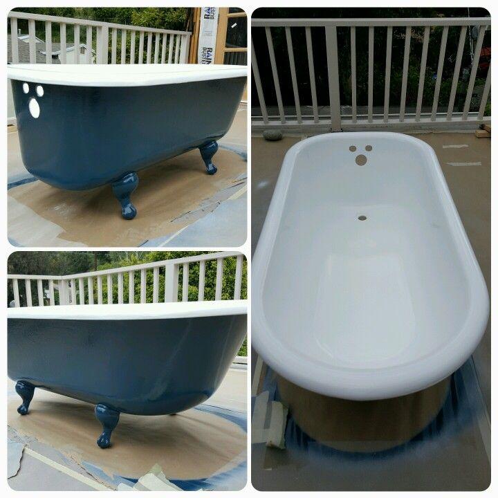 Clawfoot Tubs Sure Make A Bathroom Look Classy Reglaze Bathtub Clawfoot Tub Bathrooms Remodel