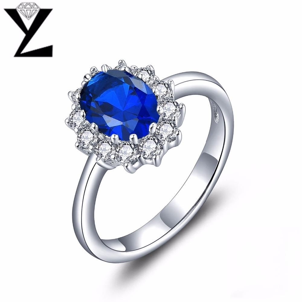Buy yl classic 925 sterling silver engagement rings for