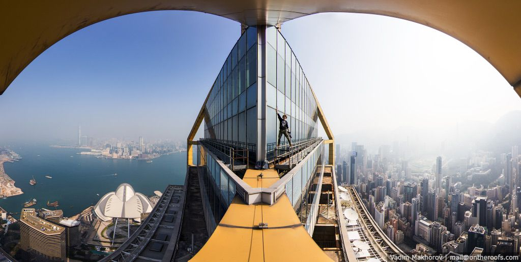 Diese russischen Skywalker liefern spektakuläre Ausblicke von den Wolkenkratzern Hongkongs   The Creators Project