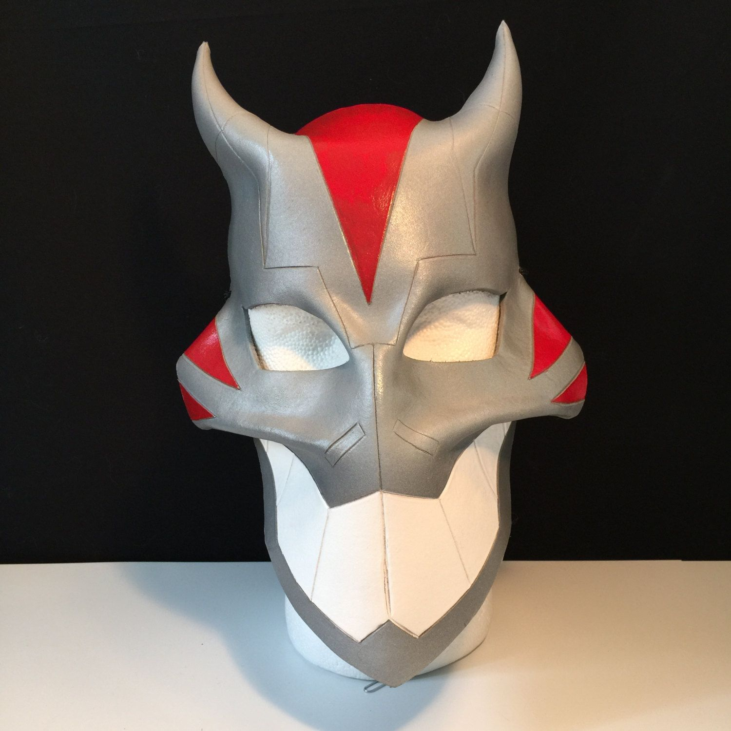 CHESIRE Cat Mask - YOUNG JUSTICE Cosplay Mask larp mask Comicon mask Cat Mask Halloween Mask Animal mask Masquerade Gray mask by FolorsFantasy on Etsy