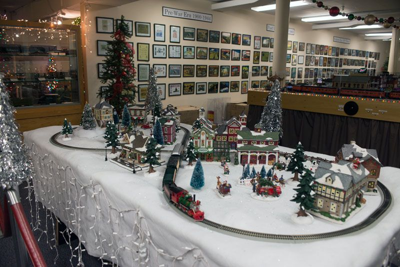 Image Result For Building Train Tunnel Christmas Village