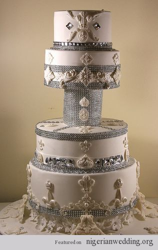 Nigerian-wedding-bling-cakes-by-Elizabeth-Cake-Emporium.jpg (316×500)