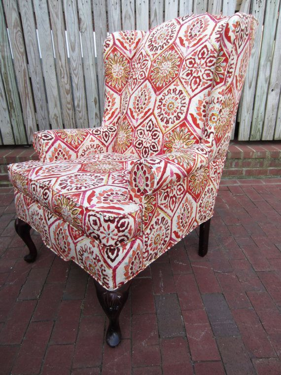 Accent Chair Morrocan Summer by Urbanmotifs on Etsy, $425.00 ...