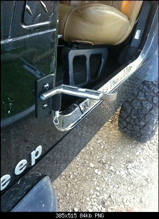 Diy Mods Foot Pegs Jeep Footpegs Jeep Cj7 Diy Jeep