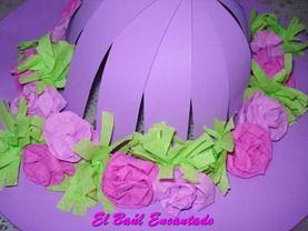 Sombrero de Cartulina para la Fiesta de la Primavera  67a295fa7ff