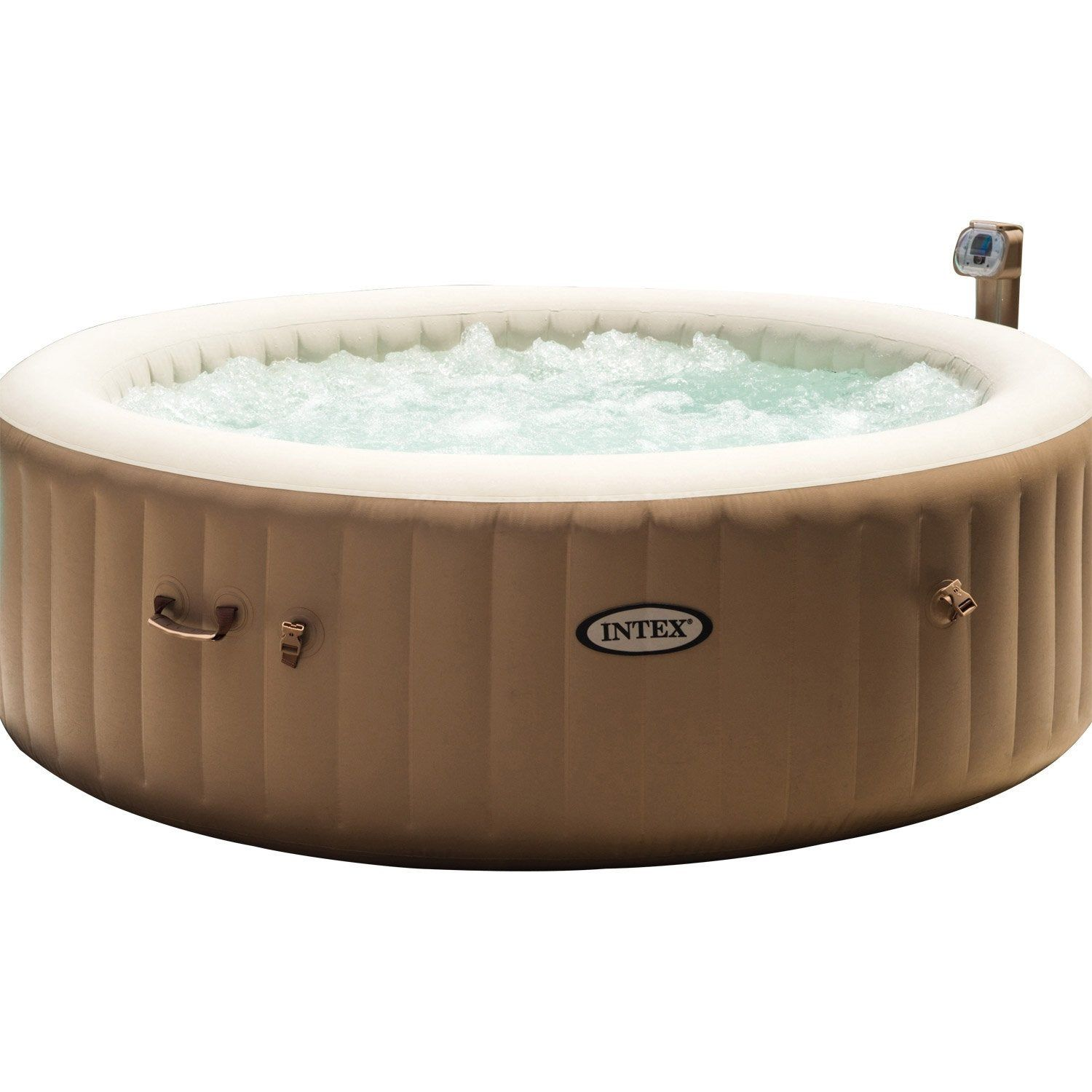 Spa Leroy Merlin Intex 6 Places spa gonflable intex pure spa bulles rond, 6 places assises