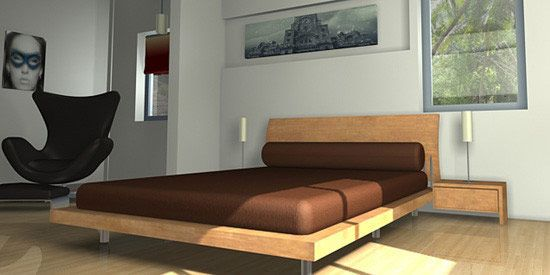 Interior lighting with 3ds max standard lights 3d studio - Autodesk 3ds max interior design ...