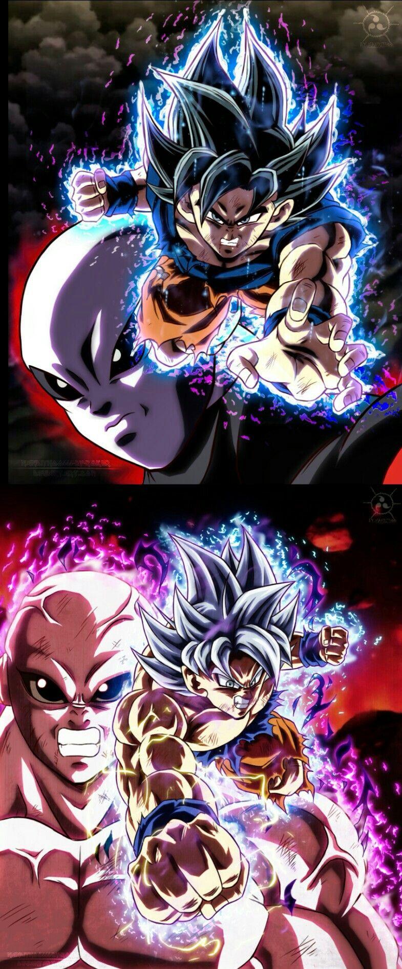Goku Vs Jiren Dragon Ball Artwork Anime Dragon Ball Dragon Ball Super Goku