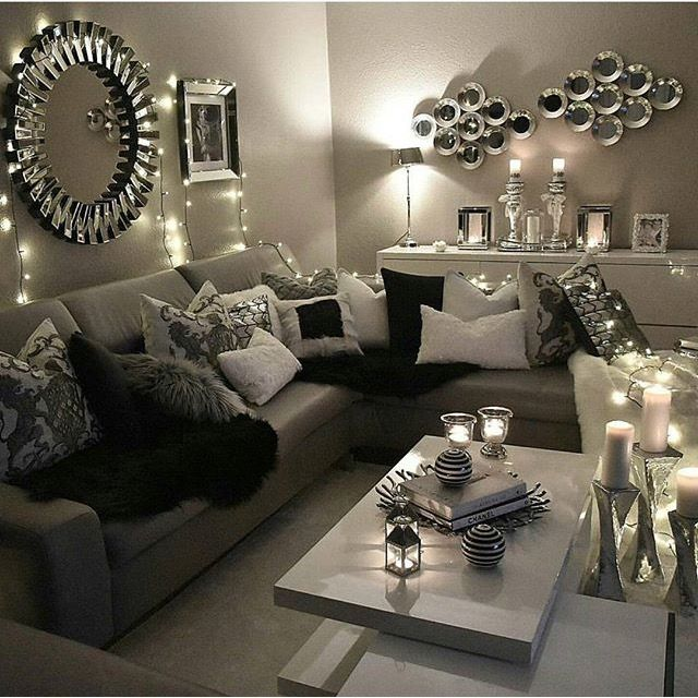 Home Decoration Allows You To Create Luxury Yet Modern Interior Design Projects Discover More Luxurious Interior De Apartment Living Room Apartment Decor Home