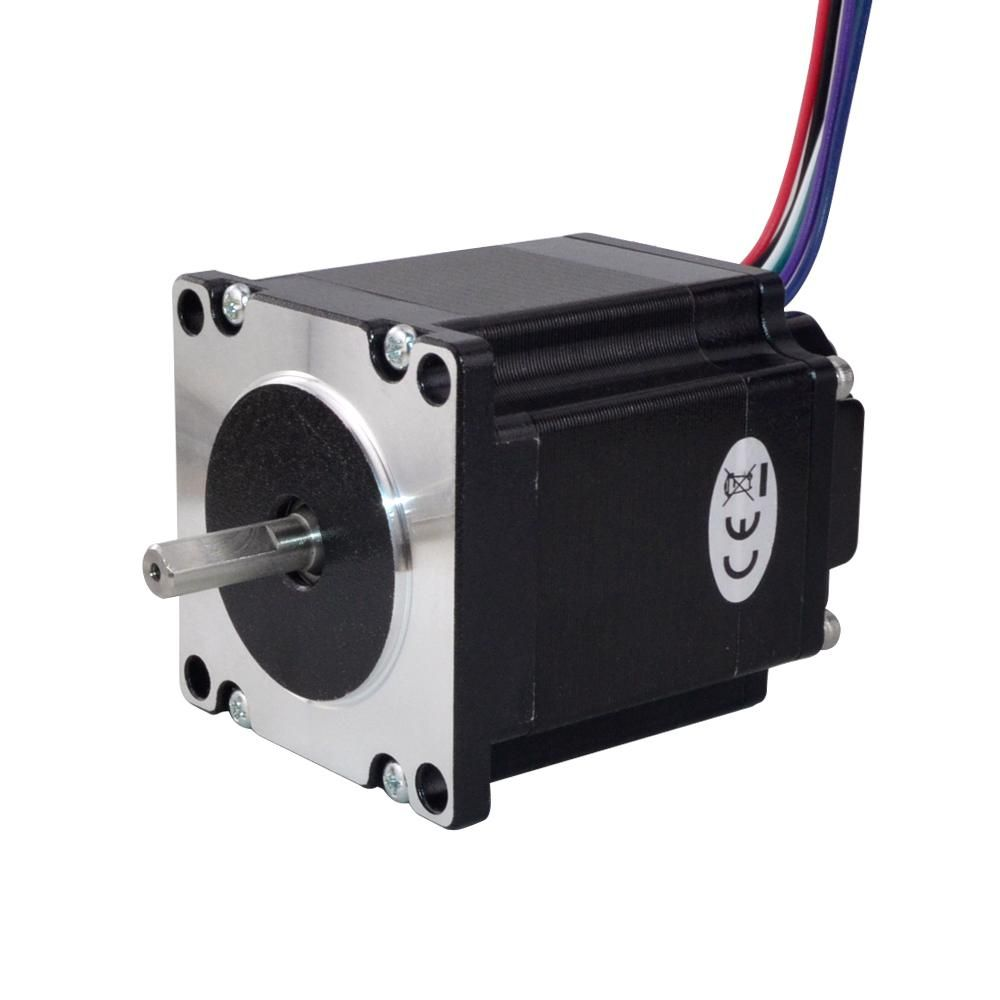 Clearance Sale Nema 23 Integrated Stepper Motor 126 Ncm 178 4oz In W Driver Isd04 12 38vdc In 2020 Stepper Motor Graphic Card Sale
