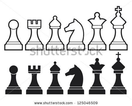 Chess Design Logo Free Vector Art Graphics Chess Knight Piece