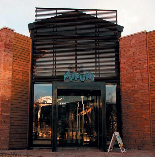 Front Elevation Modern Doors: Restaurant Exterior Elevation - Google Search
