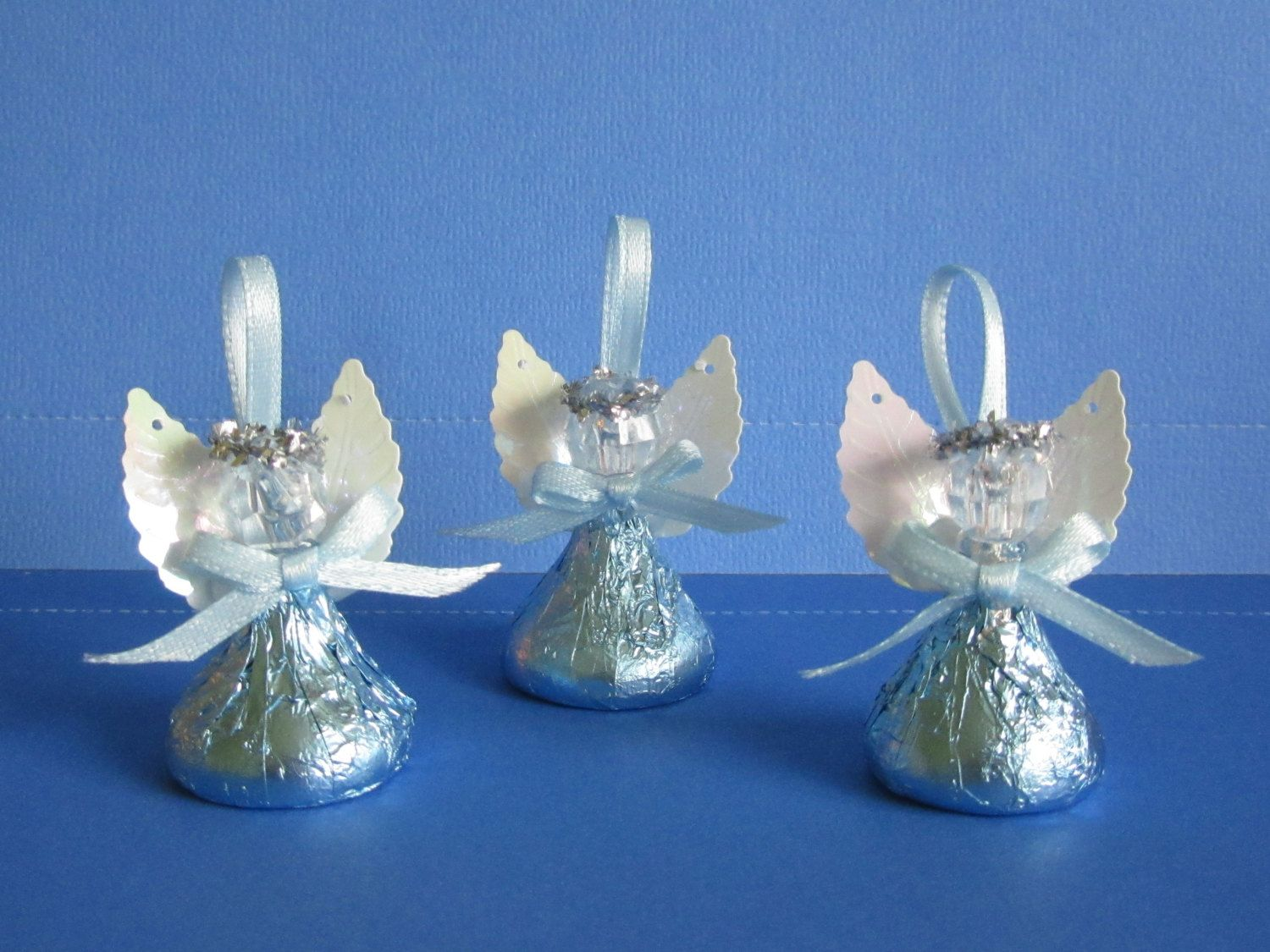 20 pieces baby Blue Angel soaps  for baby shower baptism first communion.