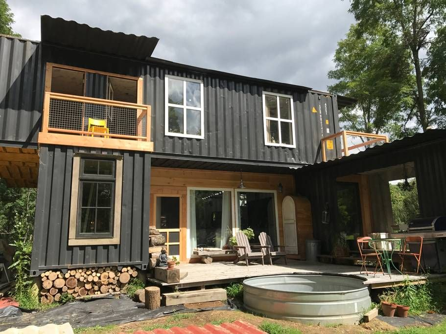 THE CORNILLON SHIPPING CONTAINER HOUSE | THE CASA CLUB