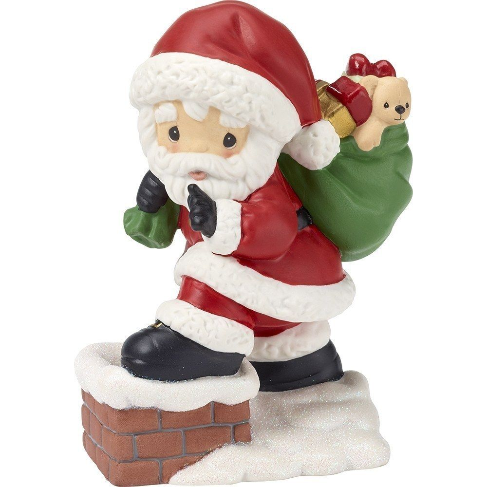 2014 A Visit From Santa #6 Final Dove Hallmark Keepsake Christmas Ornament