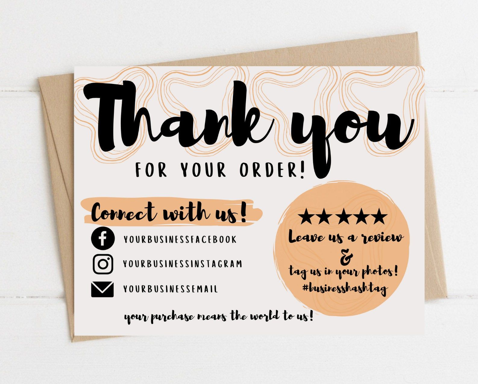 Instant Download Thank You Card Editable And Printable Thank Etsy Printable Thank You Cards Cute Thank You Cards Business Thank You Cards